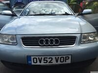 Audi A3 , 1.6L 5door , 94000 miles,Manual , petrol