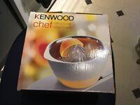New Kenwood Chef Juicer AWAT960