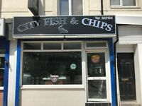 HULL HU2 8RB FULLY EQUIPPED FISH AND CHIP SHOP TO RENT READY TO TRADE IMMEDIATELY