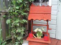 garden planter wood