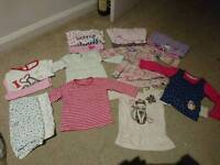 Bundle of clothes for 9-12 months old girl