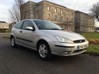 2004 Ford Focus 1.8 Zetec, 3 door, 10 months MOT, bargain.