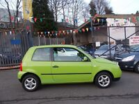 Volkswagen Lupo 1.0 E 3dr AWESOME COLOUR LOW MILEAGE GOOD CONDITION INSIDE OUT