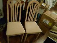 2x ikea chairs. great condition