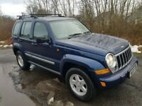 Jeep Cherokee Limited 4x4 **AUTOMATIC**FULL LEATHER**LONG MOT**Clean & Tidy**