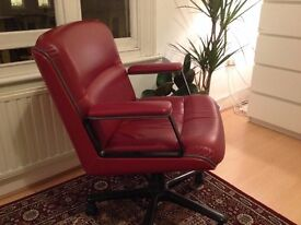 Leather Office Chair by Vaghi