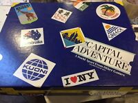 Capital Adventure Board Game