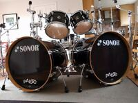 Sonor 2007 Drum Kit + Iron Cobra + Paiste Cymbals + Hardware