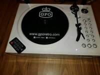 GPO retro recordable record player