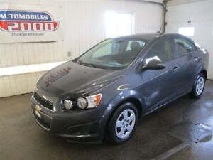 2013 Chevrolet Sonic LS/Aucun accident/1 seul proprio/Bluetooth