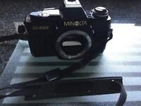 Minolta slr cameras and lens