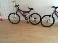 Girls mountain bikes