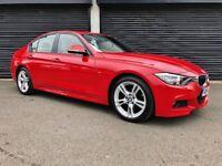 2014 BMW 318D M SPORT NOT 320D AUDI A3 A4 A5 A6 S LINE C220 AMG VW GOLF JETTA INSIGNIA PASSAT MONDEO