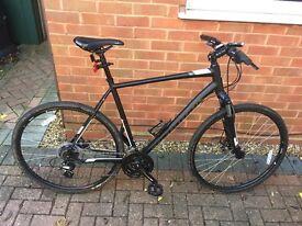 Cross trail hybrid bike