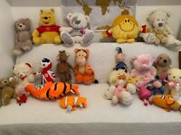 23 soft toys, suitable for playgroup or craft person or large family