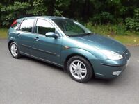 2004 FORD FOCUS ZETEC 1,6 ONE OWNER FULL SERVICE HISTORY
