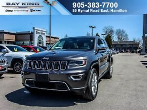 2017 Jeep Grand Cherokee LIMITED, REMOTE START, BACKUP CAM, GPS