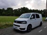 2013 vw t5 camper/day van