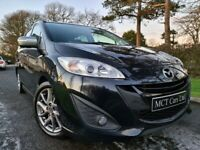 2014 Mazda 5 1.6d Sport Venture Edition 7 Seater! Heated Leather, Sat Nav, Camera, Top Spec! FSH
