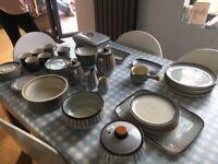 6 piece denby studio dinner set