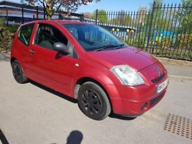 CITROEN C2 1.1 CHEAP TO INSURE AND TAX ONLY 80K MILES FSH!!!