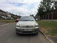 2003 Toyota Avensis automatic just serviced drives nice