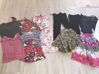 NEXT girls clothes age 5 and 6 years- 1/2 of them still tagged
