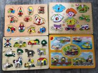 Wooden, Learning Educational Puzzle Toy