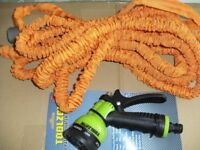 EXPANDABLE 50FT HOSEPIPE & SPRAYER (Brand New)