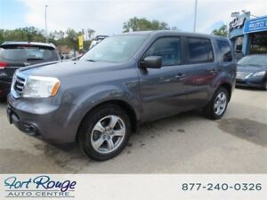 2014 Honda Pilot LX 4WD - 8 PASS/CAMERA/BLUETOOTH