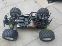 Petrol ready controlled car 1/5 2 stroke petrol complete ready to run
