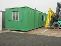 32ft x 10ft Anti Vandal Portable Cabin Site Office IN STOCK READY FOR SITE shipping container shed