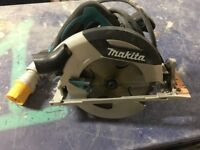 Makita hs7100 circular saw 190mm 110v