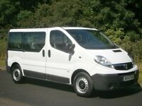 2014(14) VAUXHALL VIVARO 2900 COMBI 9 SEATER MINI BUS MPV SHUTTLE, ONE OWNER, CHEAPEST IN THE UK