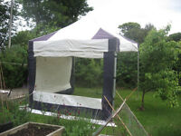 Gazebo/Awning/ Easy-Up Shelter . 3metres x 3Metres. Used, good condition.