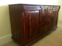 Sideboard unit, solid rosewood