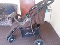 Hauck branded 3 wheel stroller buggy