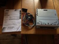 JVC Kd-S6060 Cd Player/Radio Head Unit Complete With Manual