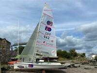 ISO performance sailing dinghy