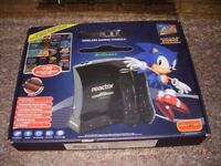SEAG MEGADRIVE REACTOR LIKE NEW BOXED 50 GAMES