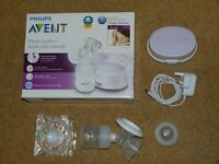 AVENT ELECTRIC BREAST PUMP/BREAST PADS/BOTTLES AND STERILISERS FOR SALE, FREE
