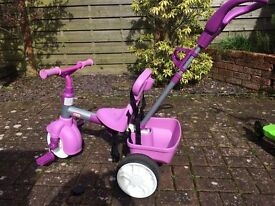 Little tikes pink/purple smart trike - good condition - only £40