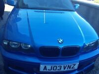 BMW Clubsport edition Estoril Blue 72k mileage rare car