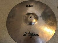Assorted used cymbals