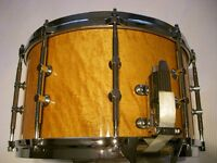 "Tama AW548 Artwood Pat 30 BEM snare drum 14 x 8"" -Japan- Gladstone homage - Ex- Phil Gould-Level 42"