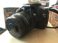 Canon Rebel EOS T3 with 18-55 lens DSLR camera