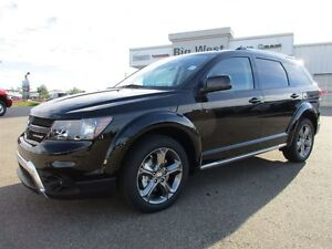 2016 Dodge Journey Crossroad V6 HEATED LEATHER / 7 PASS / F& R A