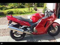 Super Blackbird Motoer Bike 1999