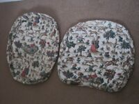 Hunting Scene Seat Covers for Ercol Lounge Chair