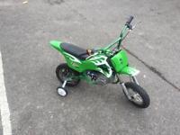 Kids mini motorcross